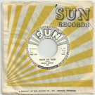 Mack Owen -  Walkin' And Talkin' / Somebody Just Like You - SUN  336 - Rockabilly PROMO 45