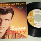 Duanne Eddy - Because They're Young - JAMIE 304 - Teen Rock  EP - 45