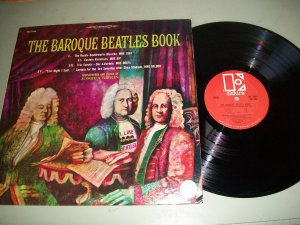 The Baroque Beatles Songbook - Joshua Rifkin - ELECTRA 7306 - Classical Rock Record LP
