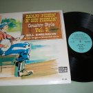 Bill Emerson - Banjo Pickin' N' Hot Fiddlin' Country Style  - Record  LP