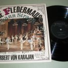 Strauss - Die Fledermaus - Karajan - ETERNA Classical Record  LP