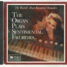 The Organ Plays Sentimental Favorites - Various Artists - POP CD