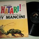 Henry Mancini - Hatari - RCA LSP-2559 - Original Soundtrack  Record LP