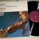 Joseph Szigeti  Roy Bogas  Prokofiev / Stravinsky - MERCURY SR 90419 - Classical Record LP
