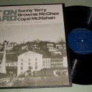 Sonny Terry  Brownie McGhee Coyal McMahan - Get On Board  - Folk Blues  Record  LP
