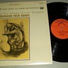 The Gregg Smith Singers - American Folk Songs - EVEREST 3117  - Folk  Record  LP