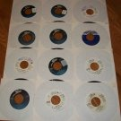 12  Michael Jackson Records 45 rpm