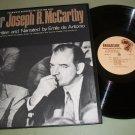 Senator Joseph R. McCarthy - Folkways 5450 Record LP