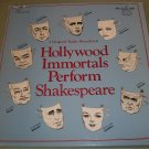 Hollywood Immortals Perform Shakespeare - Old Time Radio 5 Record Box Set