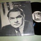 Big Town - Edward G. Robinson - Old Time Radio Record LP