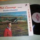 Bob Cummings - Sounds Of Aviation Pistons & Pylons - DEA 1001 - Record LP