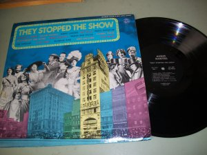 They Stopped The Show - Vaudeville -  Record LP