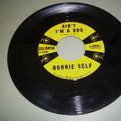 Ronnie Self - Ain't I'm A Dog / Rocky Road Blues - COLUMBIA 40989  Rockabilly  45 rpm Record