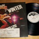 Johnny Winter - Captured Live -  Blue Sky 33944 - PROMO Rock Record LP