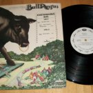 BullAngus - MERCURY 619 - PROMO Rock Record LP