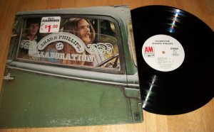 Shawn Phillips - Collaboration - A&M 4324 - PROMO Rock Record LP