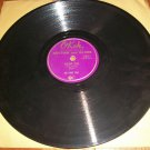 Big Three Trio - Violent Love / Lonesome - OKEH 6807  - 78 rpm R&B Record