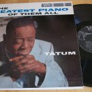 Art Tatum - Greatest Piano Of Tem All - VERVE MGV-8323 - Jazz Record LP