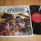 Latin American Spanish For Travelers - BERLITZ 962382  Record LP