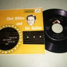 Chet Atkins - And His Guitar - RCA  EPA-588 - Country 45 Record