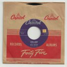 Gene Vincent - Lotta Lovin&#39; / Wear My Ring - CAPITOL 3763 - Rockabilly  45