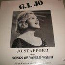 Jo Stafford  Paul Weston - G.I. Jo - CORINTHIAN 105 - Sealed Record  LP