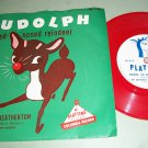Ray Heatherton - Rudolph The Reindeer  - PLAYTIME 380 - Children's / Holiday 78 rpm