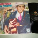 Hank Williams - Honky Tonkin' - MGM 3412 - Country  LP