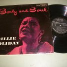 Billie Holiday - Body And Soul - VERVE 8197 - Jazz Blues   LP