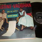 Billy Eckstine Sarah Vaughan - Sing Irving Berlin - MERCURY 20316 - Jazz   LP