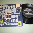 Elvis Costello - I Wanna Be Loved / Turning The Town Red - F-BEAT 35 - UK Issue  Rock 45