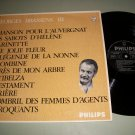 Georges Brassens 3 - PHILIPS 6325 105 - French Pop   LP
