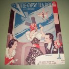 In A Little Gypsy Tea Room by Edgar Leslie & Joe Burke - 1935 Sheet Music