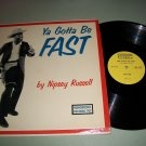 Nipsey Russell - Ya Gotta Be Fast - HUMORSONIC 707 - Comedy Record LP