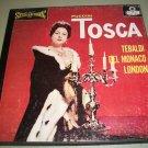 Puccini  Tosca - Tebaldi / Del Monaco  - LONDON 1210 - 2 Records  BLUE BACK LP Box Set