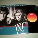 "T.X.T. - Girl's Got A Brand New Key - CBS 12.6073 - 12"" Pop / Rock 45 rpm"