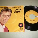 Jack Scott - Save My Soul / Goodbye Baby - CARLTON 493 -  Rockabilly 45 rpm Record