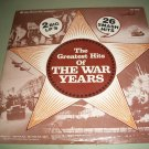 The Greatest Hits Of The War Years - TELE HOUSE 2035 - 2 LP's
