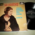 Puccini - La Boheme Highlights - Tullio Serafin - LONDON 25201 - BLUE BACK LP
