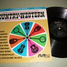 The Nashville Seven - Country & Western Instrumentals - MODERN 575  - Record LP