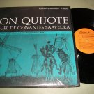 Don Quijote - Jorge Juan Rodriguez - FOLKWAYS 9930 - Spanish Record LP