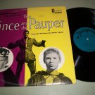 The Prince And The Paulper - Walt Disney - DISNEYLAND 1912 - Story Record LP