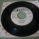 Chuck Darty - My Steady Girl / Can't You See - RAMA 229  Promo Teen Rock 45