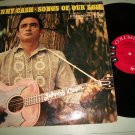 Johnny Cash - Songs Of Our Soil - COLUMBIA 1339 -  Record LP