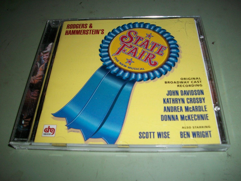 State Fair The New Musical - John Davidson Kathryn Crosby - Original Broadway Cast  CD