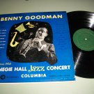 Benny Goodman - 1938 Carnegie Hall Jazz Concert - COLUMBIA 4358 - Jazz Record LP