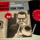 J.J. Johnson & Kai Winding - Trombone For Two - COLUMBIA 742 -  Jazz Record LP