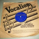 Ginny Simms - Don't Worry 'Bout Me / What Goes Up Must Come Down - VOCALION 4721 - 78 rpm