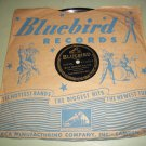 Teddy Powell - Blue Danube / A Rendezvous In Rio - BLUEBIRD 11132 - Jazz 78 rpm