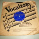 Rex Stewart & 52nd Street Stompers - Lazy Man's Shuffle / Rexatious - VOCALION 3810 - Jazz 78 rpm